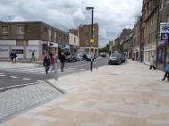 Public Realm improvements after